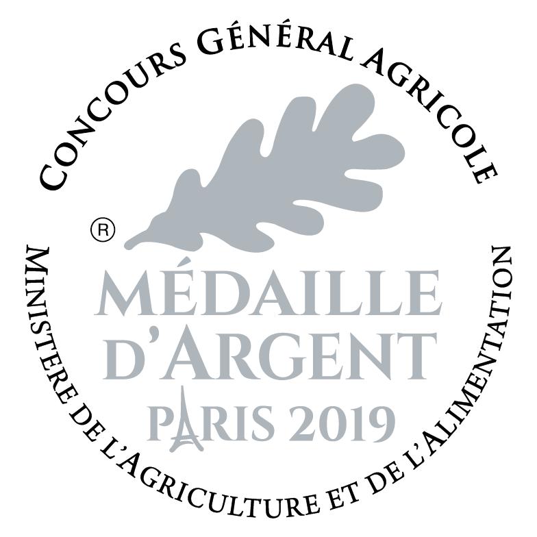 Médaille argent Paris 2019